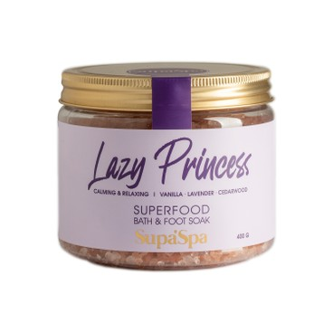 SUPERFOOD LAB - LAZY PRINCESS BATH & FOOT SOAK - 400G