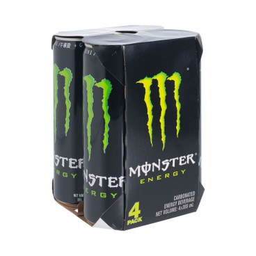MONSTER - ULTRA ENERGY DRINK-4 CANS - 355MLX4