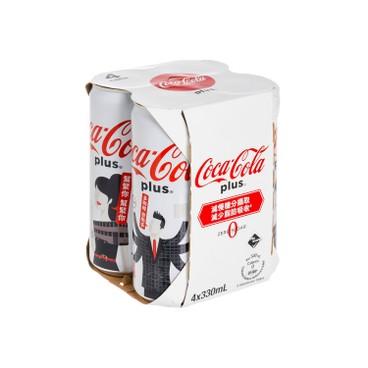 COCA-COLA - Coke Plus tall Can random Packing - 330MLX4