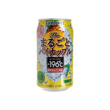 SUNTORY BEER - 196 ℃ Chuhai Beer pineapple - 350ML