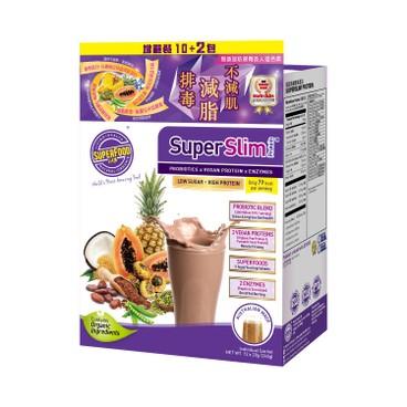 SUPERFOOD LAB - SUPERSLIM PROTEIN-SACHETS - 20GX12