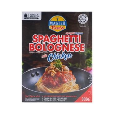 Master Pasto - 3分鐘即食意大利意粉-茄汁雞肉醬 - 300G