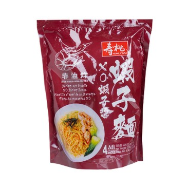 壽桃牌 - XO蝦子醬蝦子麵(4個裝) - 228G