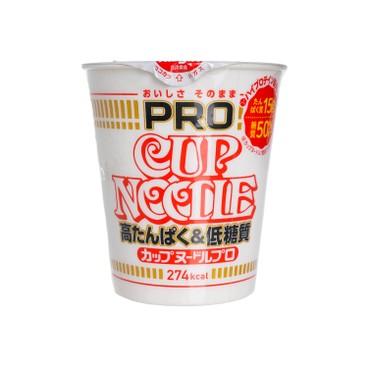 日清 - 高蛋白低碳水杯麵 - 74G