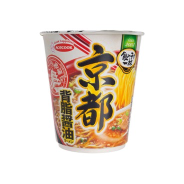 ACECOOK - KYOTO BACK FAT SOY SAUCE RAMEN - 68G