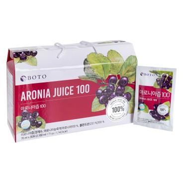 BOTO - 100% 野櫻莓汁 - 70MLX30