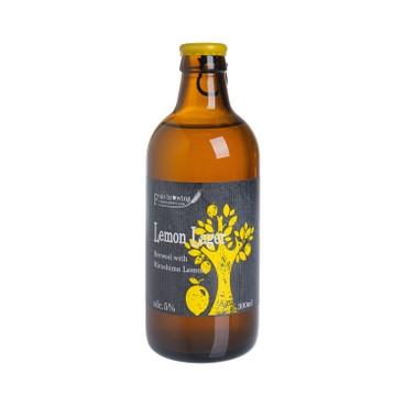 北海道麦酒釀造 - 手工啤酒 - 檸檬拉格果釀 - 300ML