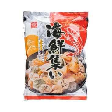 三河屋 - 海鮮雜錦餅 - 118G