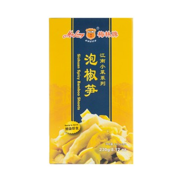 MALING - SICHUAN SPICY BAMBOO SHOOTS - 230G
