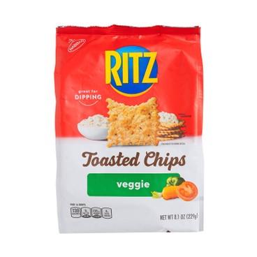 RITZ 利脆 - 烘烤脆片-超薄脆系列-蔬菜味 (期間限定) - 229G