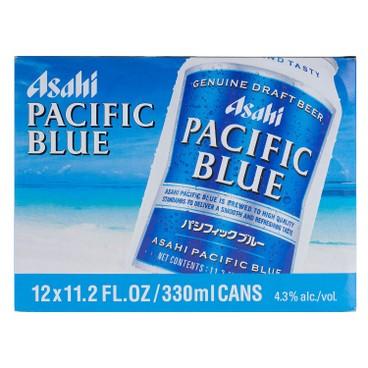 ASAHI(PARALLEL IMPORT) - BEER - PACIFIC BLUE GENUINE DRAFT - 330MLX12