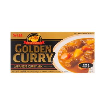 S&B - GOLDEN CURRY-MEDIUM HOT - 220G