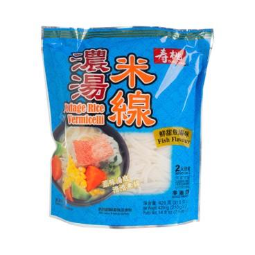 壽桃牌 - 濃湯米線-鮮甜魚湯 - 420G