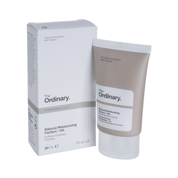 THE ORDINARY - 天然保濕因子 + 透明質酸補水面霜 - 30ML