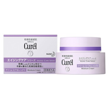 CUREL - 緊致抗皺滋潤面霜 - 40G