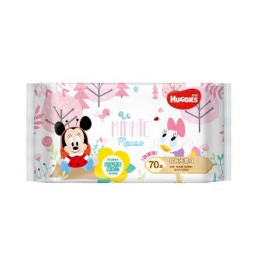 HUGGIES - 純水嬰兒濕紙巾 (迪士尼限定版) - 70'S
