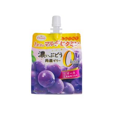 多良見 - 蒟蒻啫喱-濃味巨峰味 (0卡路里) - 155G