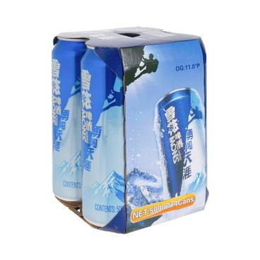 雪花 - 啤酒 - 勇闖天涯(巨罐) - 500MLX4