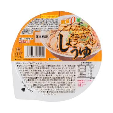 NAKAKI - 蒟蒻麵 (香蔥醬油味) - 127.5G