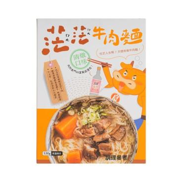 Liang Jin Farm - STEWED BEEF NOODLE - 530G