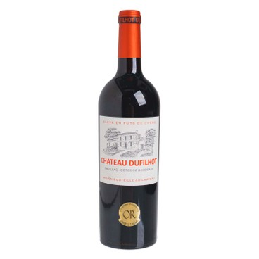 CHATEAU DUFILHOT - 紅酒-波爾多丘 2019 - 750ML