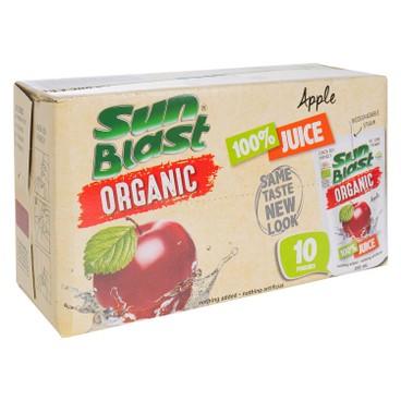 SUN BLAST - 有機100%果汁 - 蘋果 - 200MLX10