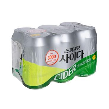 ONLY PRICE - 梳打汽水(七喜味) - 350MLX6