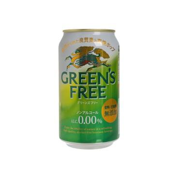 KIRIN - GREENS FREE BEER - 350ML