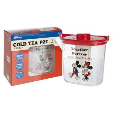 SKATER - PLASTIC TEA POT(MICKEY & MINNIE ) - PC