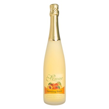 SENAC - NON-ALCOHOLIC SPARKLING DRINK - PEACH - 750ML