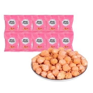 星球工坊 - 爆谷套裝-草莓牛奶口味 (期間限定) (分享包) - 10GX10