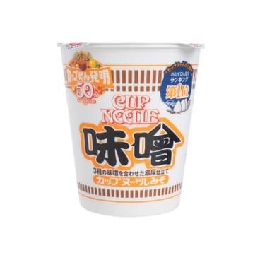 日清 - 合味道杯麵-味噌味 - 83G