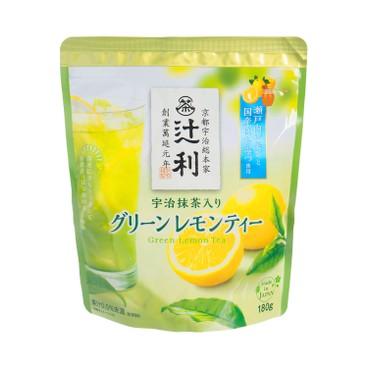 TSUJIRI - UJIMACHA GREEN LEMON TEA - 180G