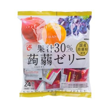 ACE - FRUIT JUICE 30% KONJAC FRUIT JELLY WHITE - 480G