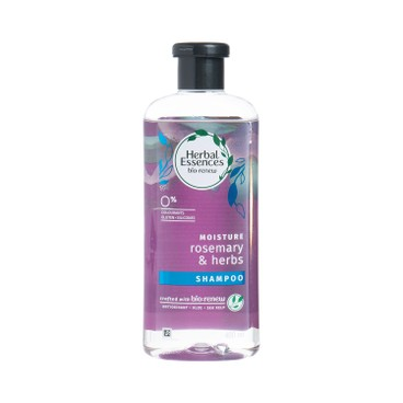 HERBAL ESSENCES (平行進口) - 迷迭香和香草保濕洗髮水 - 400ML