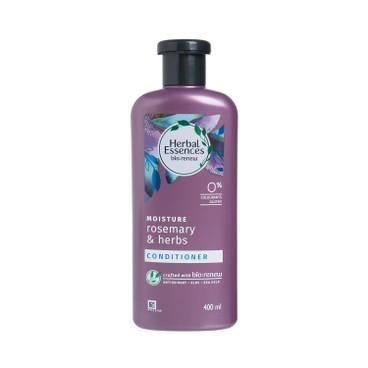 HERBAL ESSENCES (平行進口) - 迷迭香和香草保濕護髮素 - 400ML