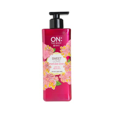 ON THE BODY (PARALLEL IMPORTED) - PERFUME BODY WASH- LOVE - 480ML