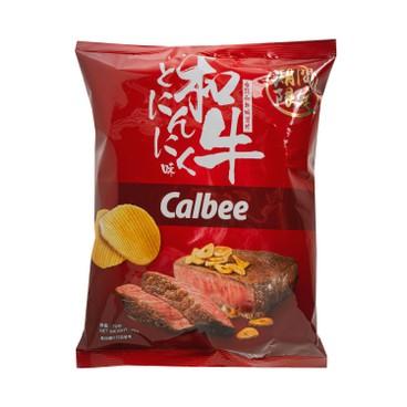 CALBEE - BEEF FLAVOURED POTATO CHIPS - 70G