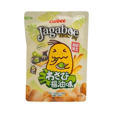 CALBEE - JAGABEE POTATO CHIPS - 17GX5