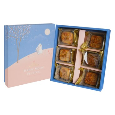 CHERRY-GRANDFATHER - ASSORTED MOON CAKE - 6'S