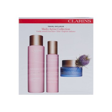 CLARINS(平行進口) - 多元活膚系列三件裝 - 200ML+50ML+50ML