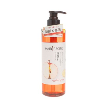 HAIR RECIPE - 生薑防斷營養洗髮露 - 530ML