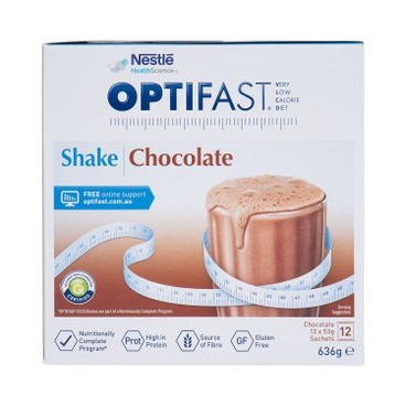 NESTLE HEALTH SCIENCE - OPTIFAST® WEIGHTLOSS MILKSHAKE (CHOCOLATE FLAVOUR) - 53GX12