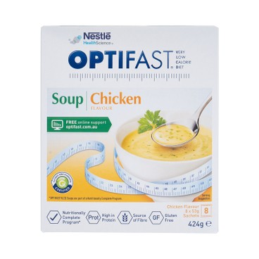 NESTLE HEALTH SCIENCE - OPTIFAST® WEIGHTLOSS SOUP (CHICKEN FLAVOUR) - 53GX8