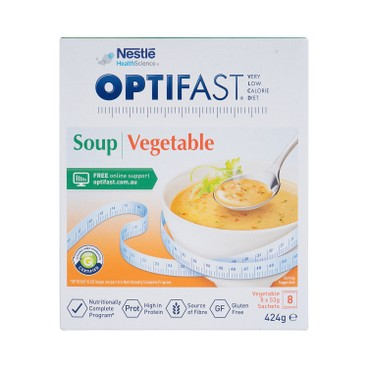NESTLE HEALTH SCIENCE - OPTIFAST® WEIGHTLOSS SOUP (VEGETABLE FLAVOUR) - 53GX8