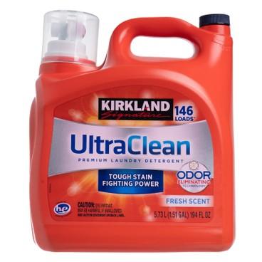 KIRKLAND SIGNATURE - 超潔淨高效優質洗衣液 - 5.73L