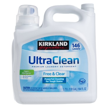 KIRKLAND SIGNATURE - 超潔淨洗衣液 - 5.73L