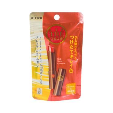 ROHTO - LIP THE COLOR Lip Tint SPF26 PA+++ Pink Coral - 2G