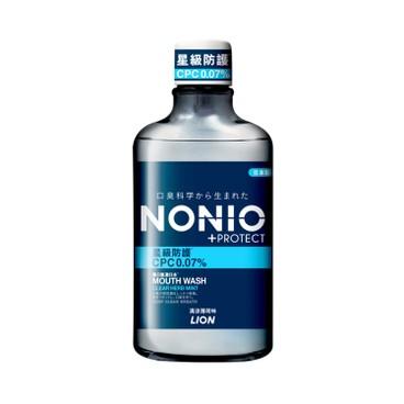 獅王NONIO - 星級防護無口氣漱口水 (清涼薄荷味) - 600ML
