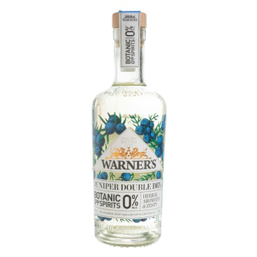 WARNER'S - LONDON DRY GIN - JUNIPER DOUBLE (0% ALC.) - 500ML